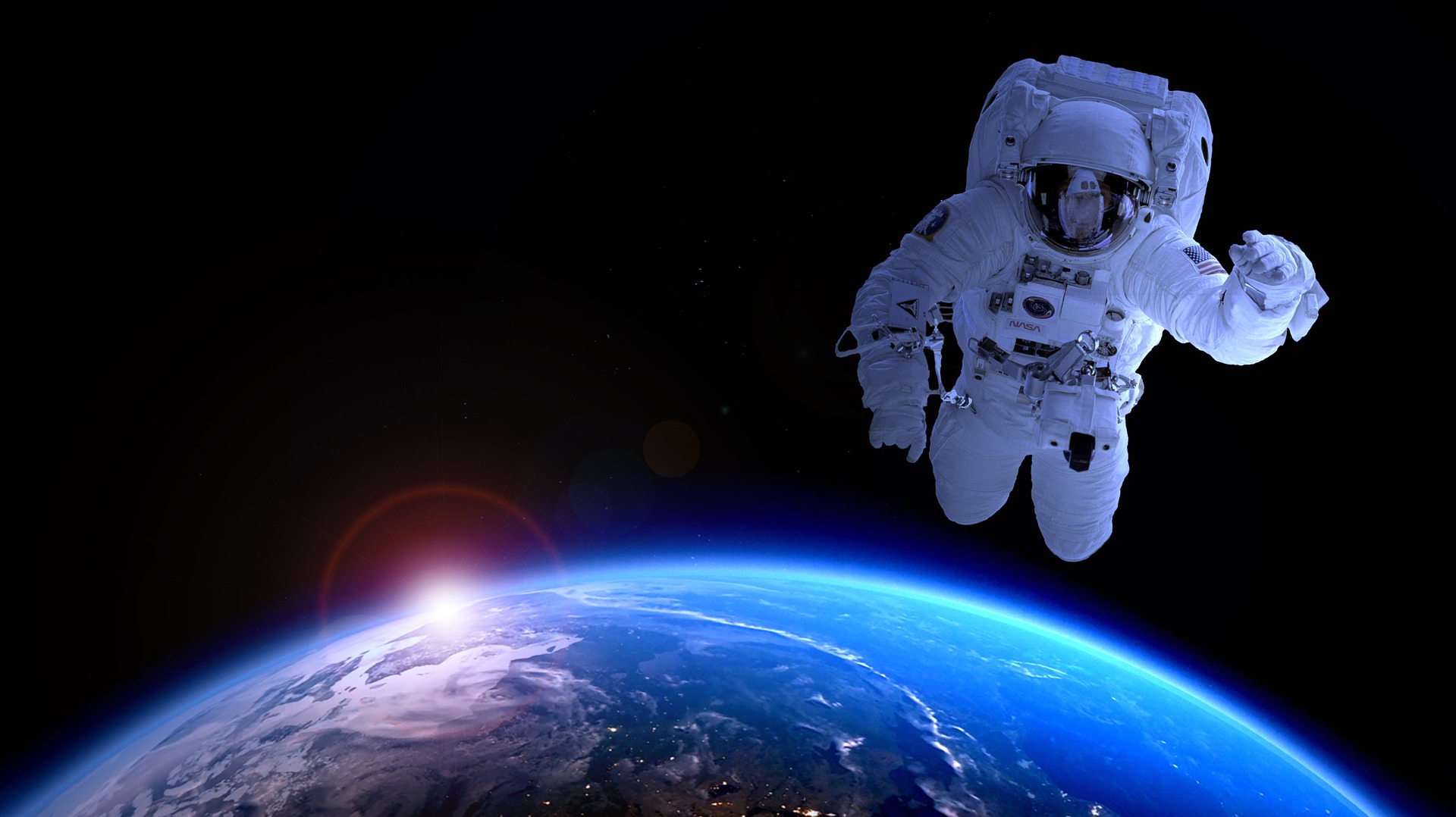 HUMAN IN SPACE