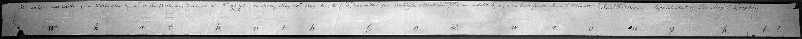 ilk telgraf
